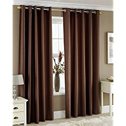 Brown Window Curtains Brushed Nickel Double Curtain Rod Bubble Guppies