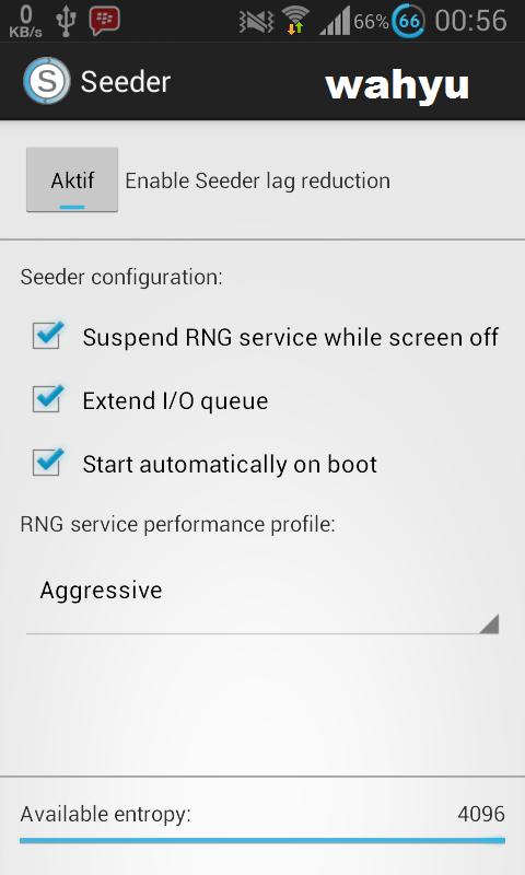 Cara mengatasi lag di android dengan seeder