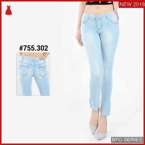 BFO249B16 CELANA Model BOYFRIEND JEANS Jaman Now FASHION BMGShop
