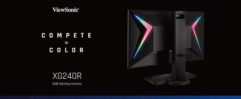 ViewSonic's announces XG240R Gaming Monitor with RGB