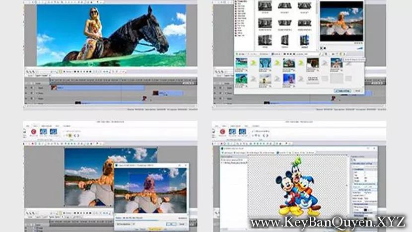 VSDC Video Editor Pro 6.1.1.893894 Full Key , Phần mềm biên tập và chỉnh sửa Video nhẹ nhất.