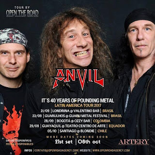ANVIL EN Latinoamerica