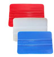 Espátula de polietileno para aplicação de vinil adesivo