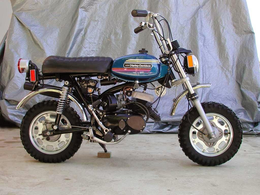The Petrol Stop: Harley Davidson X90 Monkey Bike