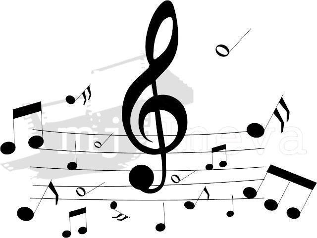 Dibujos De Letras Musicales Para Colorear: Dibujos De Letras Musicales