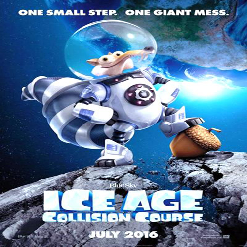 Ice Age: Collision Course Poster Film