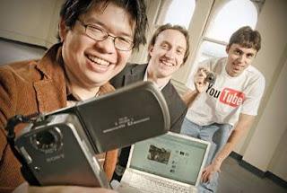 Chen, Chad Hurley y Jaweb Karim