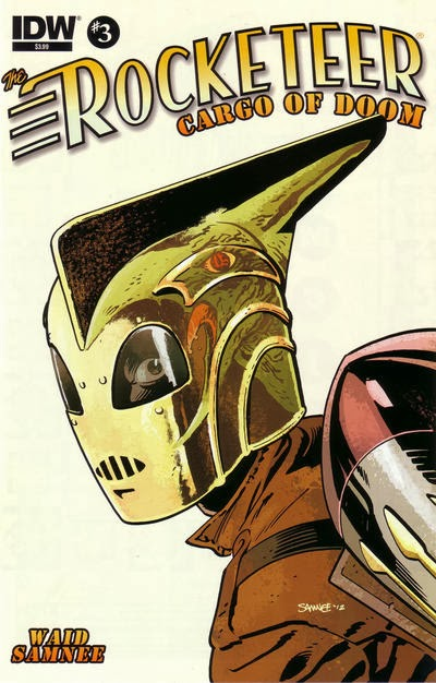 The Crossover Universe: Crossover Cover: The Rocketeer Cargo