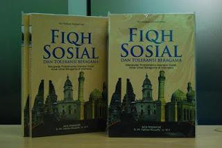Jual Buku Fikih Sosial dan Toleransi Beragama | Toko Buku Aswaja Banjarmasin