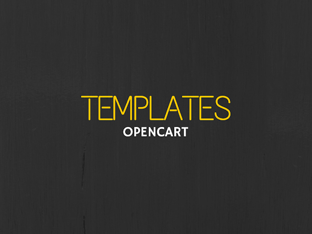 List of best open cart templates