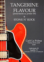 Concierto de Tangerine Flavour y Stone N' Rock en Café la Palma