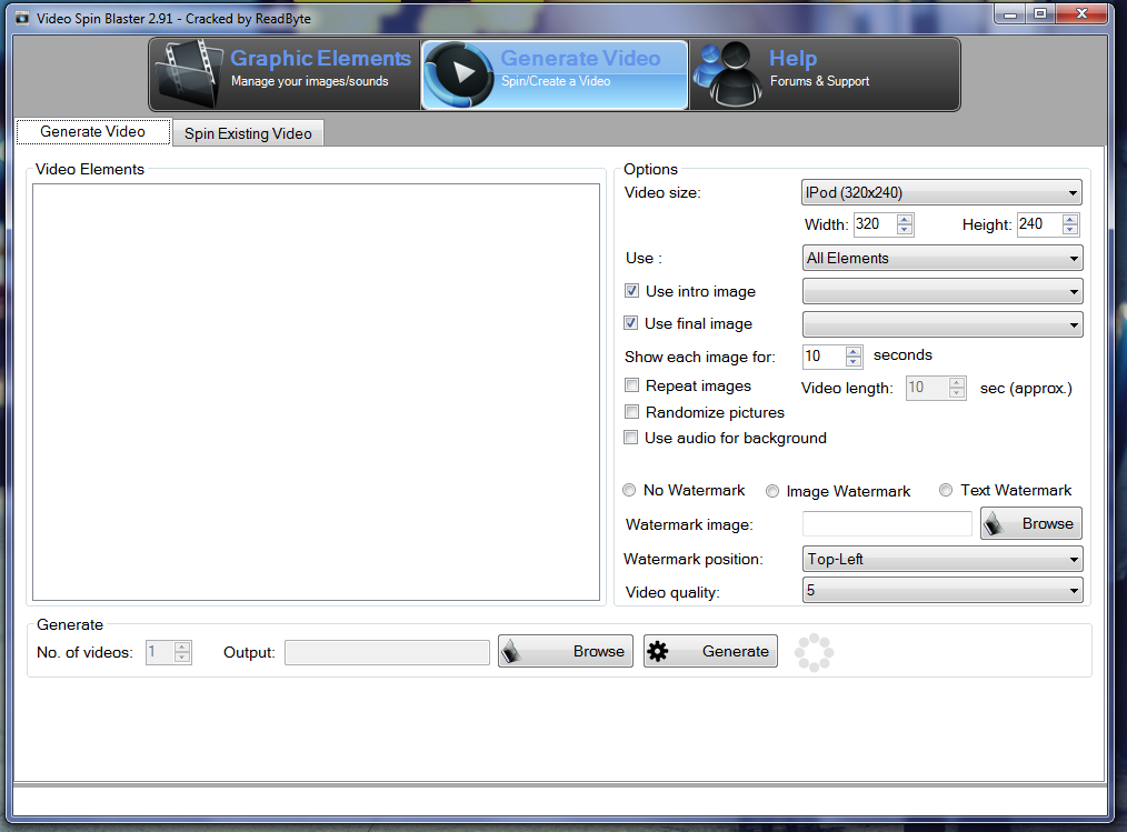 Download video spin blaster pro 1. 10 full free.