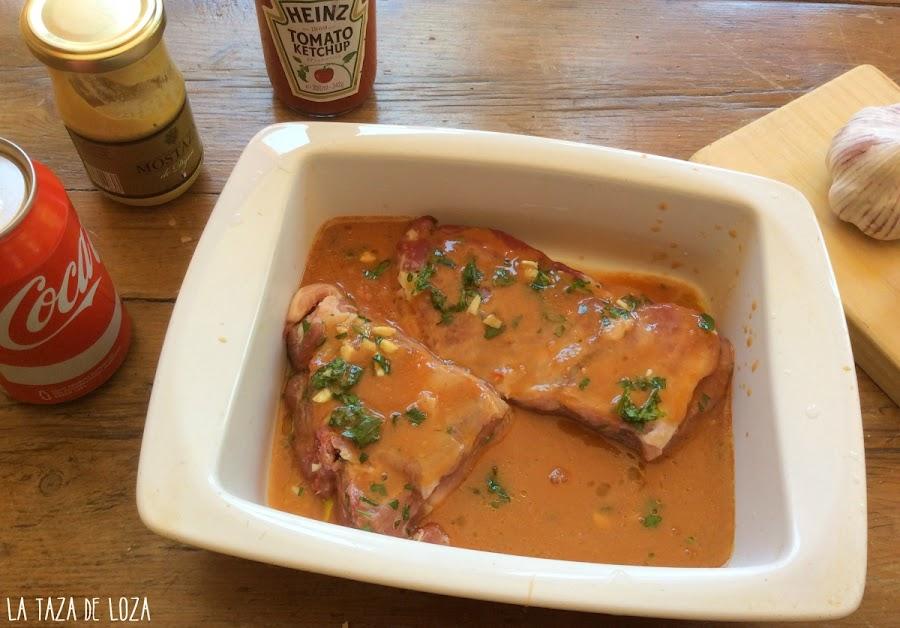 costillas-de-cerdo-con-salsa-barbacoa-casera