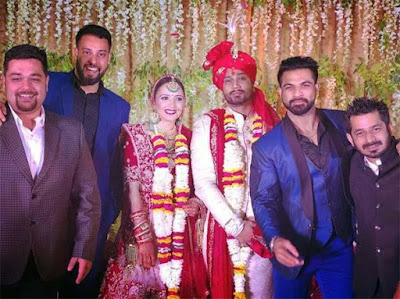 Actor-vineet-kumar-wedding