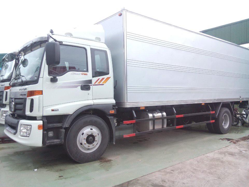 Giá xe tải 9 tấn thùng kín tại Hải Phòng