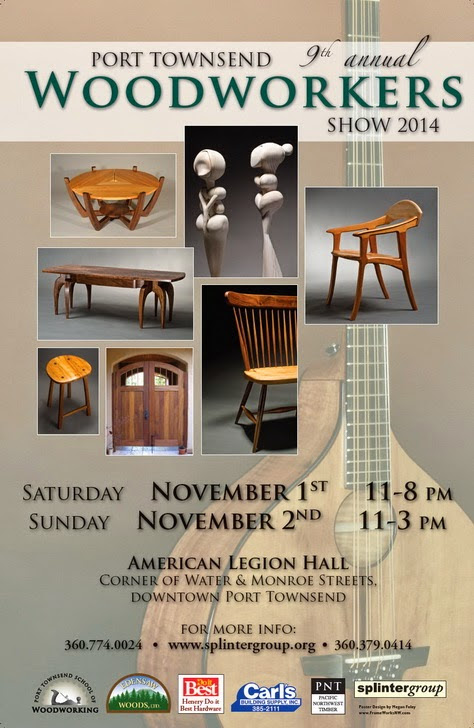 Port Townsend School of Woodworking: Port Townsend Woodworkers Show 2014