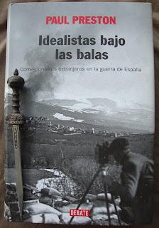 Portada del libro Idealistas bajo las balas, de Paul Preston