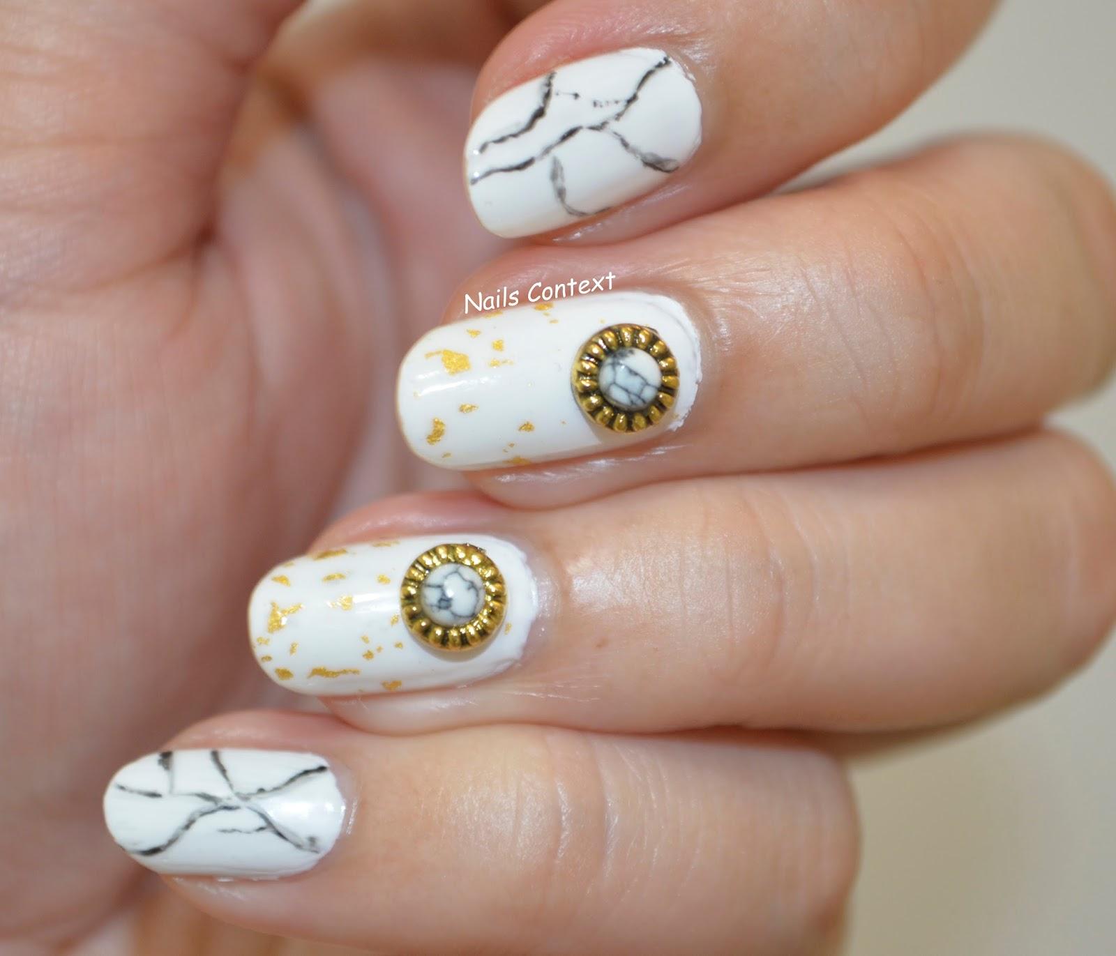 Nails Context: Marble Nails
