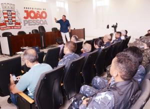 Guarda Civil Municipal de João Pessoa (PB) inicia ciclo de palestras para o efetivo abordando o tema da motivação