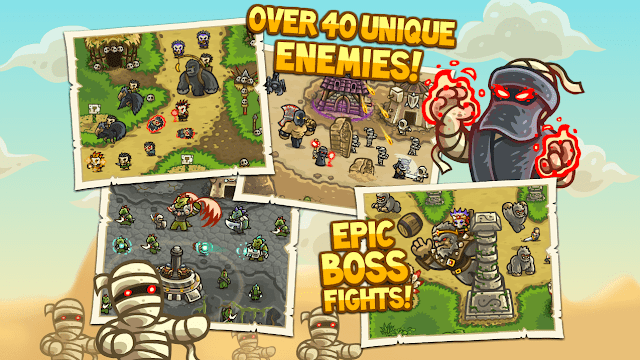 Kingdom rush frontiers fun Android games to play Offline