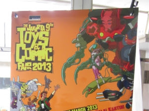 The Jakarta 9th Toys and Comic Fair