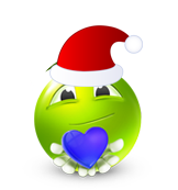 Christmas Smiley Icon 33