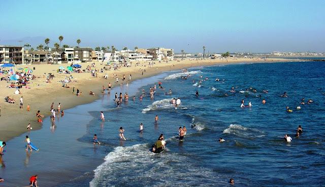 Praia Seal em Anaheim