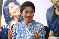 Sai Pallavi looks super cute in plain dress at her interview in Telugu about movie Fidaa ~ Exclusive Celebrities Galleries 058.JPG