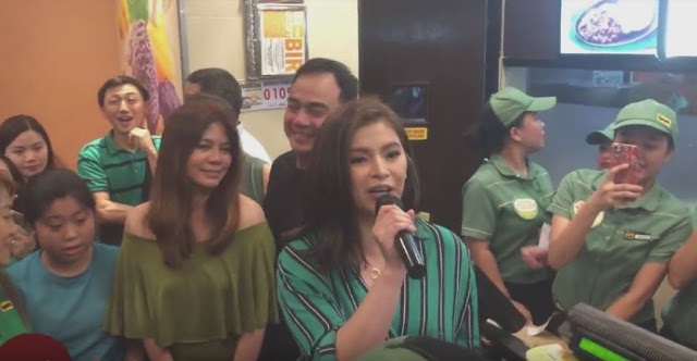 Fans Have Gathered At The Festival Mall To Celebrate The National Halo-Halo Day With Angel Locsin
