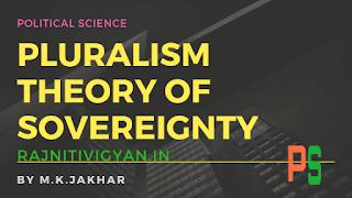 Pluralism Theory of Sovereignty samparbhuta ka bahulvadi siddhant