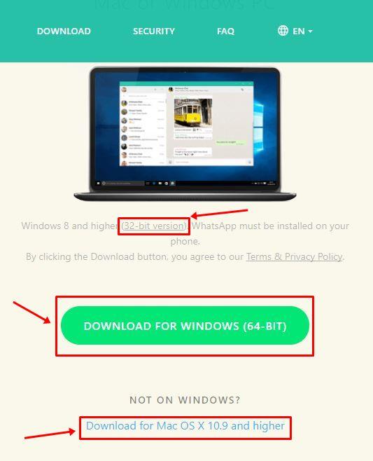 descargar wasap para pc windows 7