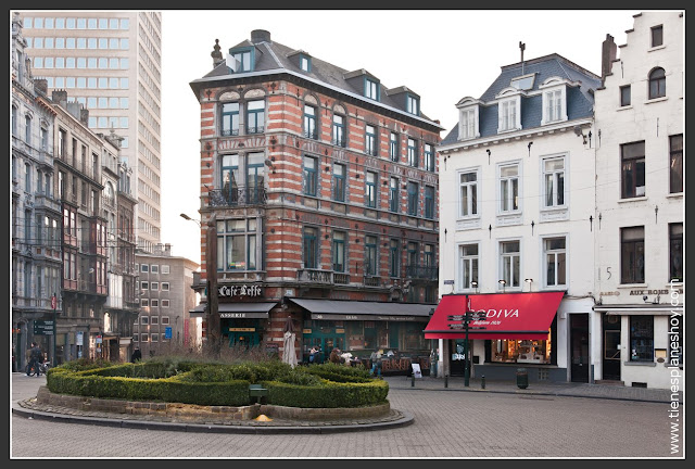 Barrio du Sablon Bruselas