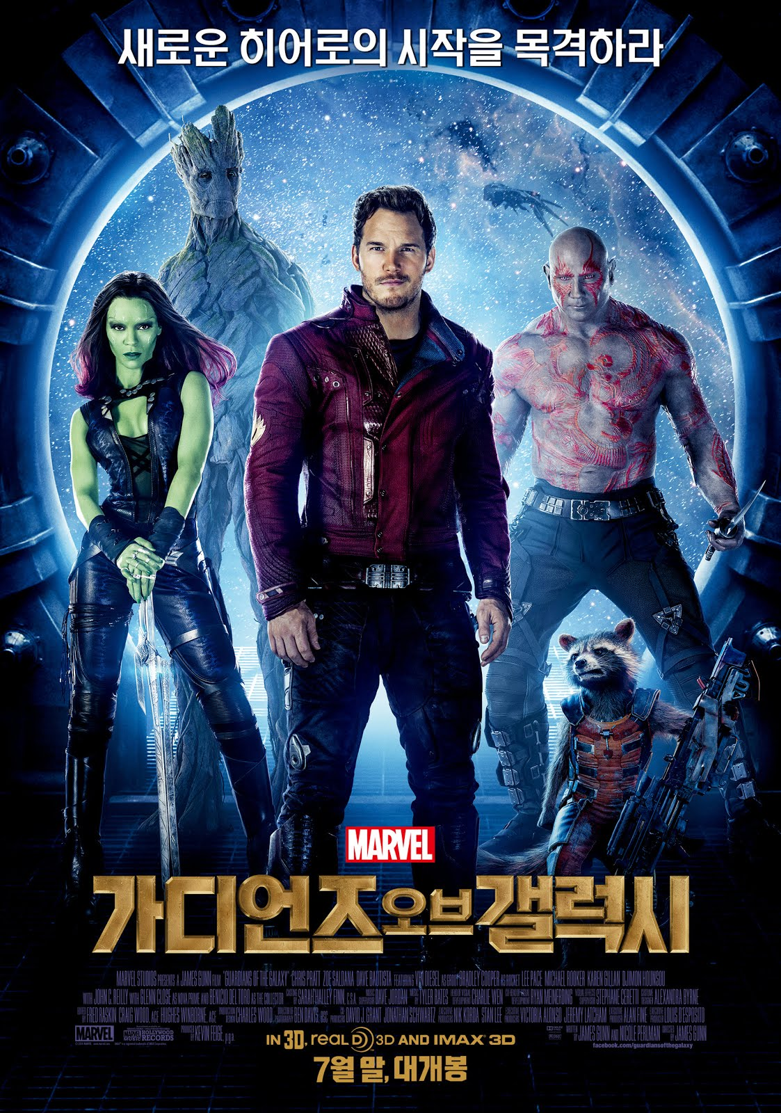 Guardians of the Galaxy (2014) Hindi ORG Dual Audio 720p BluRay 950MB ESubs