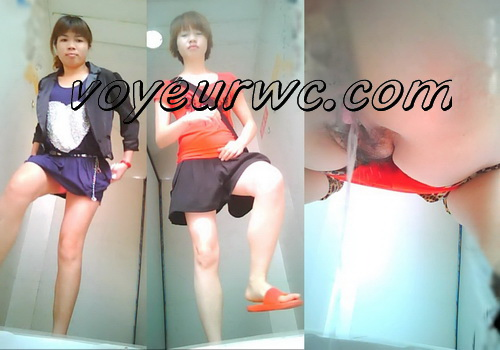 ChinaVoyeur 461-480 (Girls peeing in the common toilet voyeur spy cam videos)