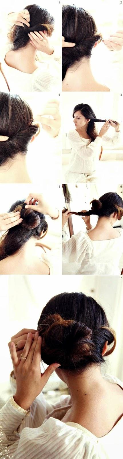 Cara Mengikat Rambut Pendek yang Bagus Cantik
