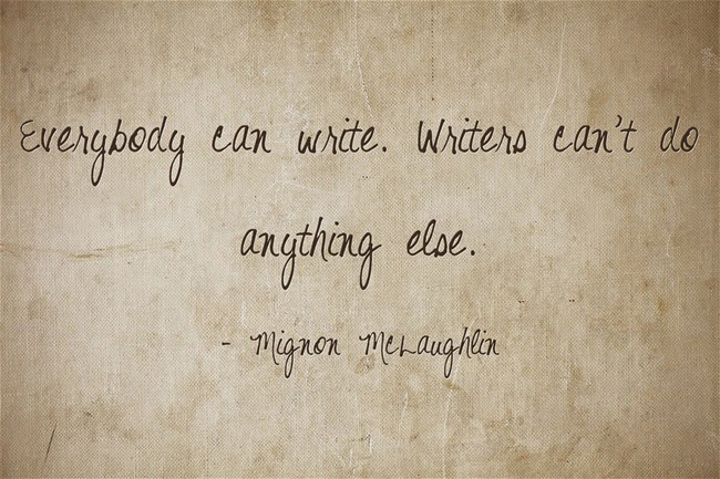 Everybody can write