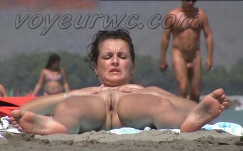 Jack Nude Beach 21 (This beach spy cam caught everything from a hot women sunbathing in the nude)