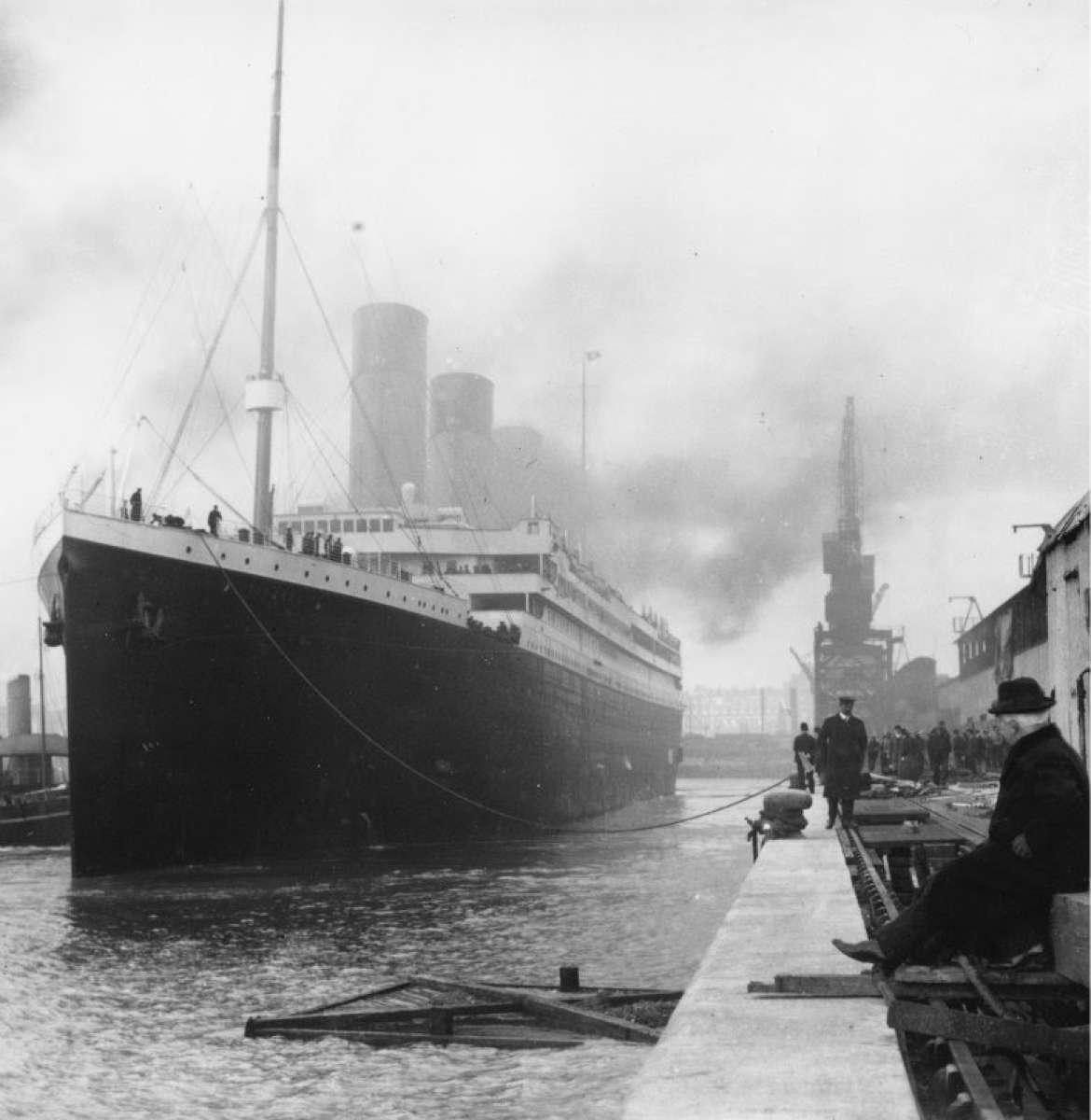 Відправка Титаніка з порту Саутґемптона (1912 рік)