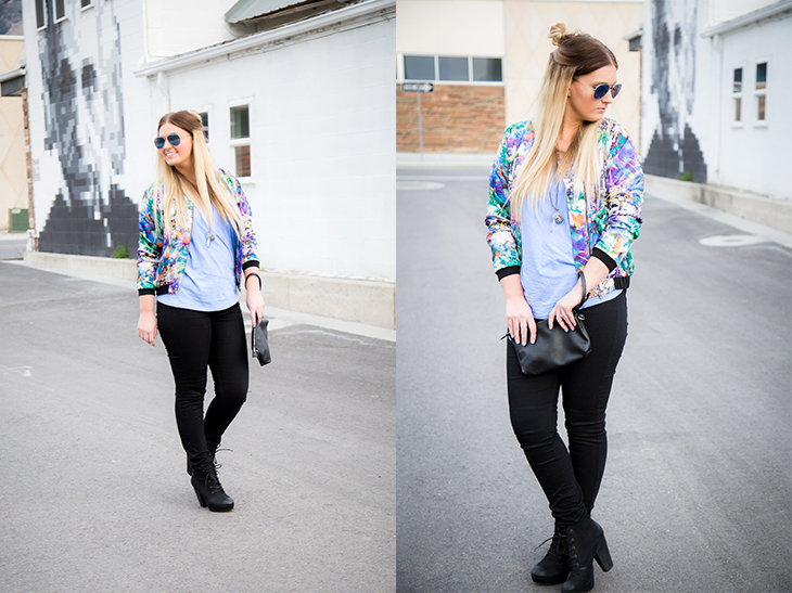 Floral Jacket- Two Image