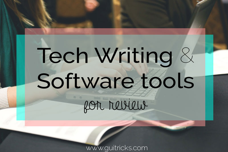Best Tech Writing And Software Tools For Review