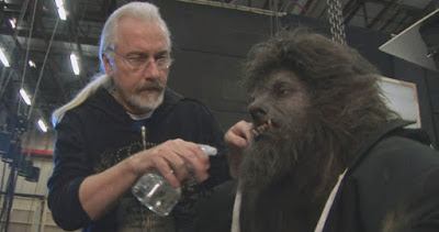 Rick Baker special effects make up specialist on An American Werewolf in London.