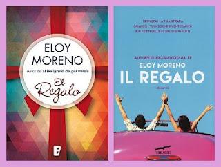 Portadas del libro El regalo, de Eloy Moreno