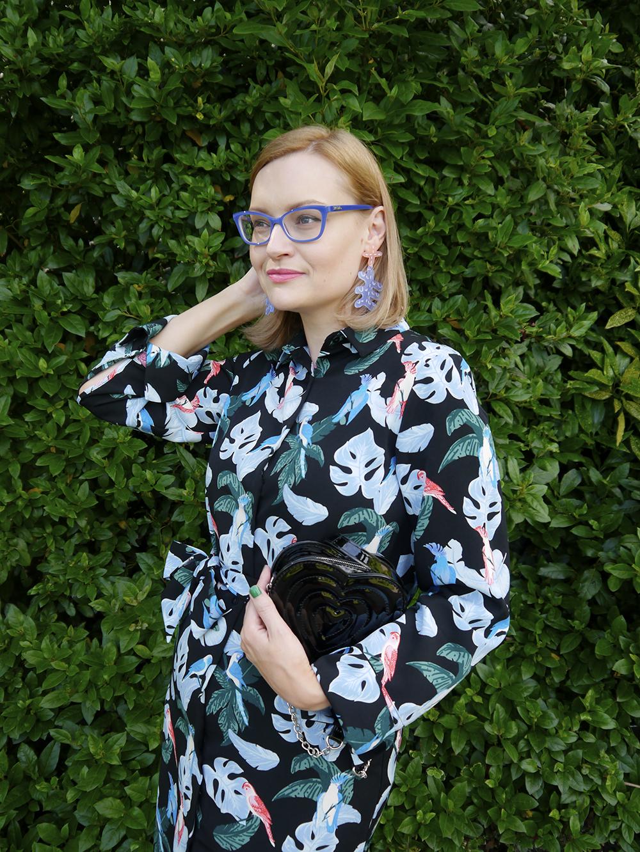 How to style Julia de Klerk statement earrings without looking Pat Butcher