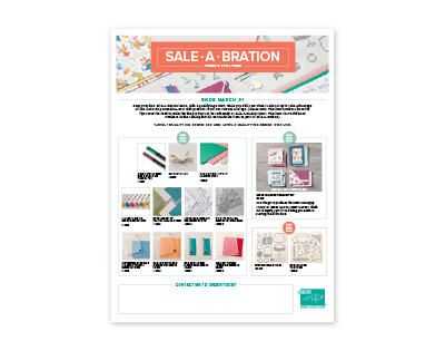Shop Sale-a-Bration (Third Release)