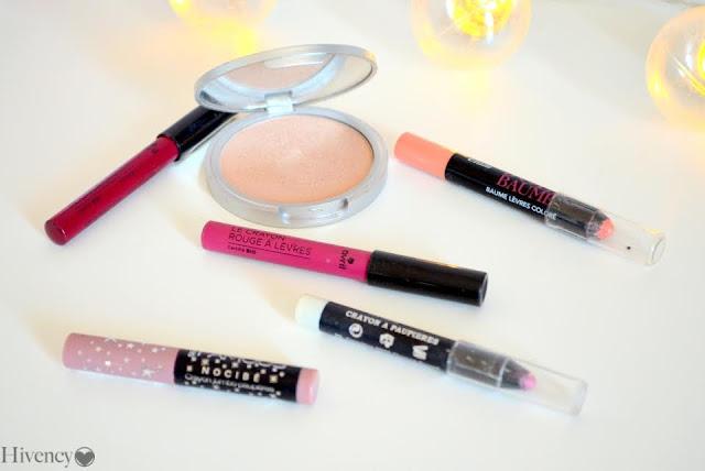 maquillage, rouges à lèvres, maquillage des lèvres