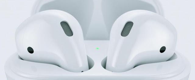 سماعات Airpods اللاسلكية الجديدة