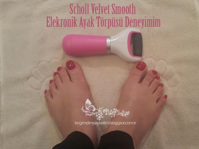 Scholl Velvet Smooth Elekronik Ayak Törpüsü