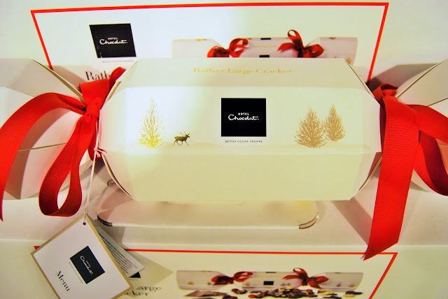 Hotel Chocolat Christmas Cracker giveaway, photo by modern bric a brac