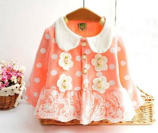 Contoh Baju Mantel Bayi Lucu Model Terbaru 7