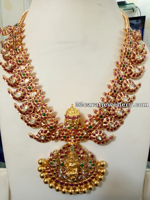 Mango Necklace by Ganesh jewellers
